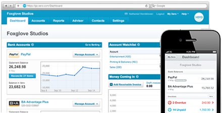 xero interface